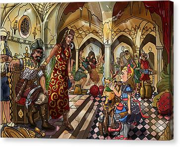 The Cave Of Ali Baba Canvas Print by Reynold Jay