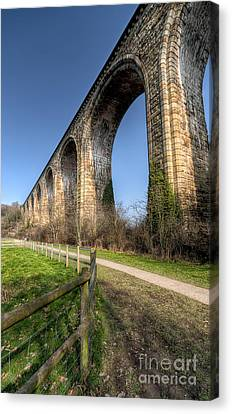 The Cefn Mawr Viaduct Canvas Print by Adrian Evans