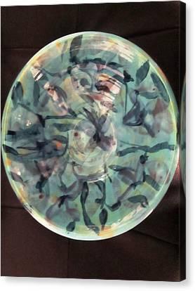 The Ceramic Bowl Canvas Print by Martha Nelson