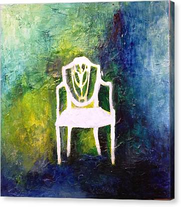 The Chair Canvas Print by Andrea Friedell