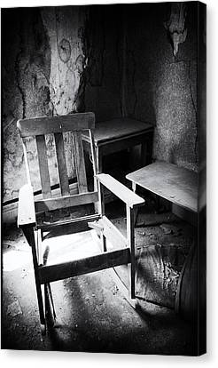 The Chair Canvas Print by Cat Connor