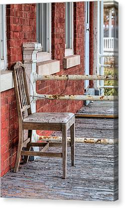 The Chair  Canvas Print by JC Findley