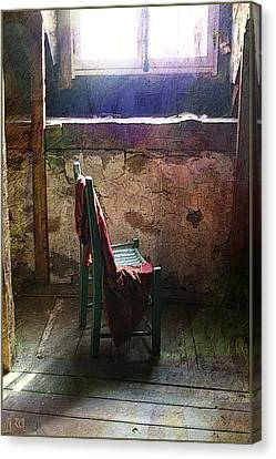 The Chair Canvas Print by Julika Winkler