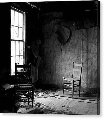 The Chair Canvas Print by Wendell Thompson