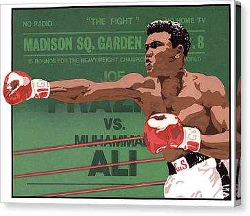 The Champ Canvas Print by Anne Gifford