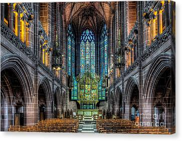 The Chapel Canvas Print by Adrian Evans