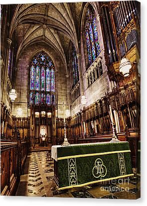 The Chapel At Duke Canvas Print