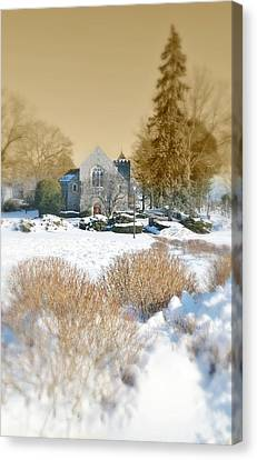 The Chapel Canvas Print by Diana Angstadt