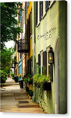 The Charm Of Charleston Canvas Print
