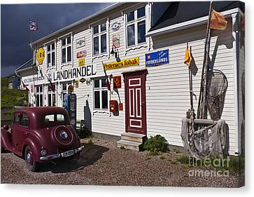 The Charm Of The Old Times Canvas Print by Heiko Koehrer-Wagner