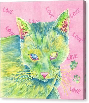 The Charmer Canvas Print by Rhonda Leonard