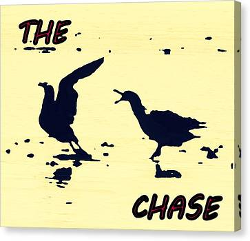 The Chase Canvas Print by Pamela Hyde Wilson
