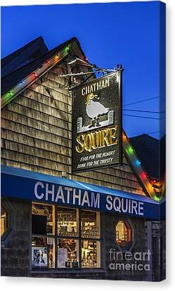 The Chatham Squire Canvas Print by John Greim