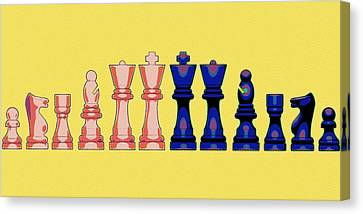 The Checkmate Diaries Canvas Print