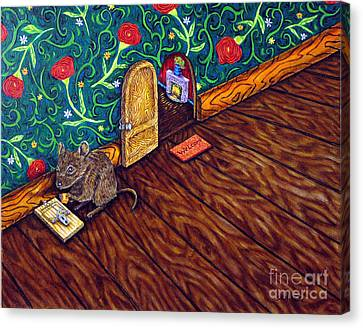 The Cheese Thief Canvas Print by Jay  Schmetz