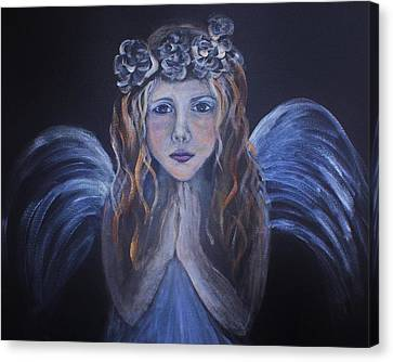 The Child Within Canvas Print by The Art With A Heart By Charlotte Phillips