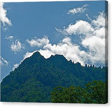 The Chimney Tops Canvas Print