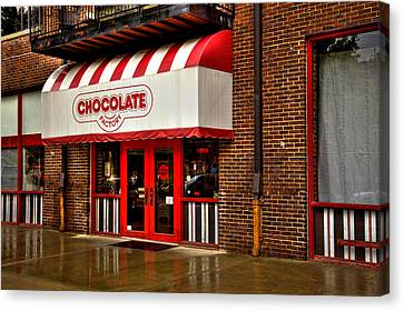 The Chocolate Factory Canvas Print