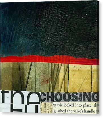 The Choosing Canvas Print by Jane Davies