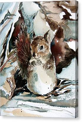 The Christmas Sweet Canvas Print by Mindy Newman