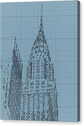 The Chrysler Building Canvas Print