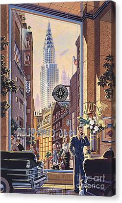 The Chrysler Canvas Print by Michael Young