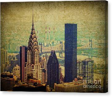 The Chrysler Canvas Print by Nishanth Gopinathan