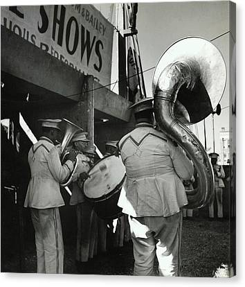 The Chubby Circus Band Canvas Print by Toni Frissell