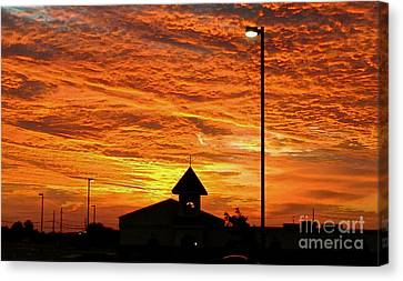 The Church - No.0469 Canvas Print by Joe Finney