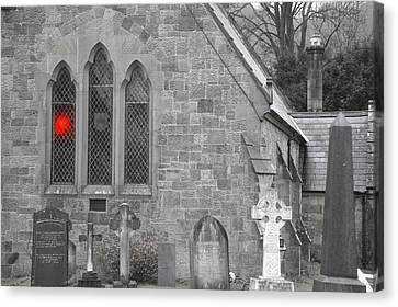 Canvas Print featuring the photograph The Church 2 by Christopher Rowlands