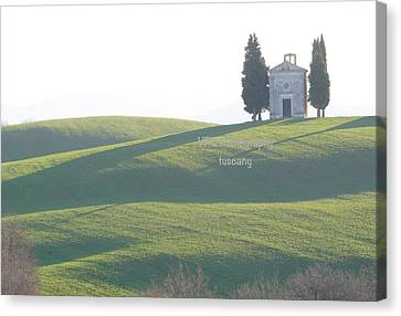Florence Canvas Print - The Church From Gladiator by Peter Viteritti