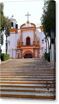 The Church Of Guadalupe 1 Canvas Print