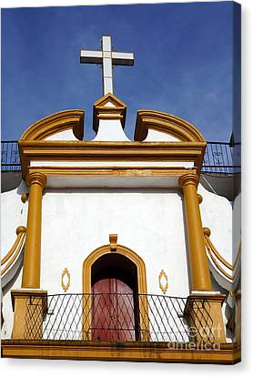 The Church Of Guadalupe 3 Canvas Print