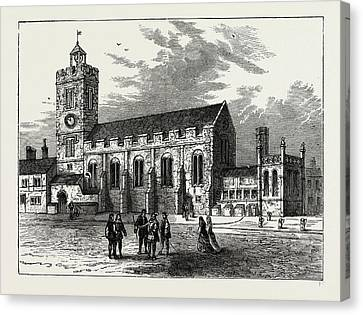 The Church Of St. Michael Ad Bladum Canvas Print by Litz Collection