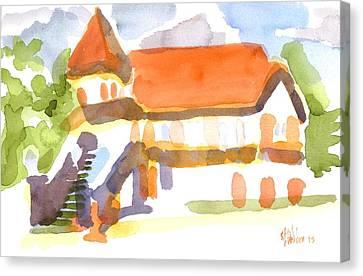 The Church On Shepherd Street V Canvas Print by Kip DeVore