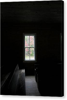 The Church Window Canvas Print