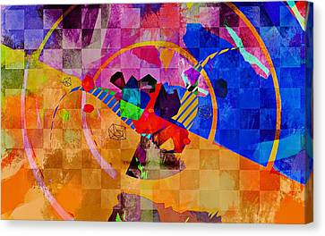 The Circle Game Canvas Print by Allen Beilschmidt