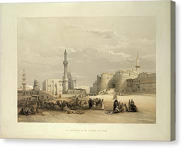 The Citadel Of Cairo Canvas Print