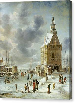 The City Gate Of Hoorn  Canvas Print