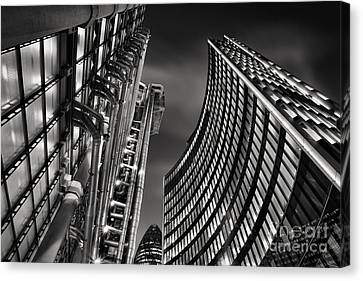 The City Canvas Print by Rod McLean