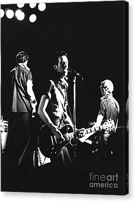 The Clash 1979 Canvas Print by Joyce Weir