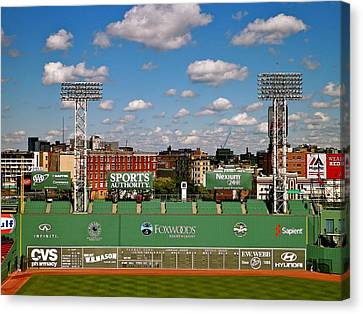 The Classic II Fenway Park Collection  Canvas Print by Iconic Images Art Gallery David Pucciarelli