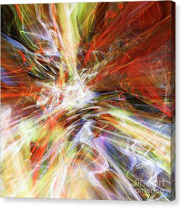 Canvas Print featuring the digital art The Cleansing by Margie Chapman