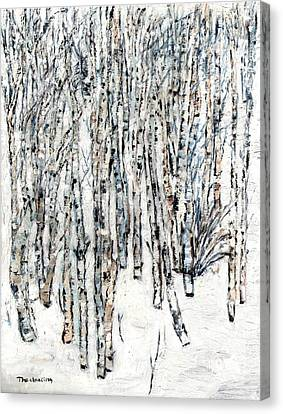 The Clearing Canvas Print by David Dossett