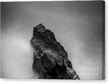 The Cliff Canvas Print by Gunnar Orn Arnason