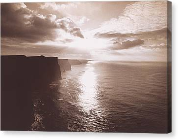 Co. Clare Canvas Print - The Cliff Of Moher Ireland by Panoramic Images