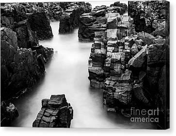 The Cliffs Canvas Print by Gunnar Orn Arnason
