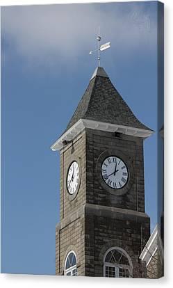 The Clock Tower Canvas Print by Rhonda Humphreys