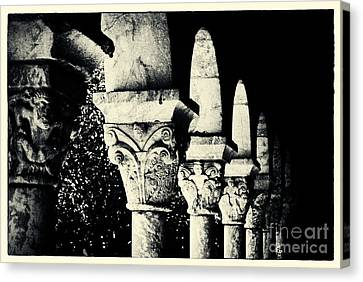 The Cloisters New York City Canvas Print by Sabine Jacobs