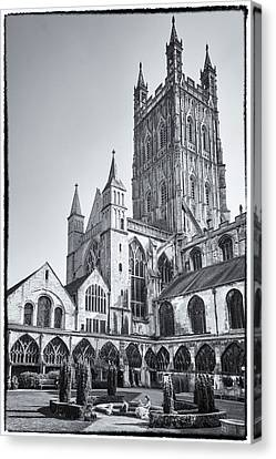 Canvas Print featuring the photograph The Cloisters by Stewart Scott